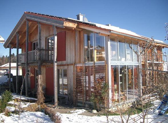 ökologische Häuser holzhausbau zacherl ökologischer holzhausbau im allgäu